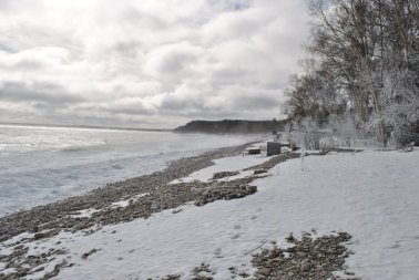 A blustery day at the cottage - Georgian Bay, Ontario