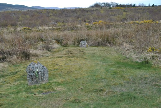 Stones for the Mixed Clansmen who perished in battle,