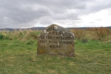 The only stone erected for the English