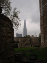The Shard from beyond the wall