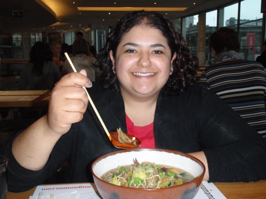 Nadia at Wagamamas