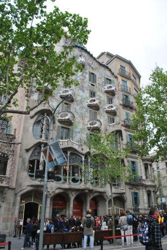 Gaudi building #1