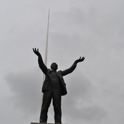 Jim Larkin and the Spire
