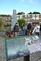 Memorial for the victims of Bloody Sunday