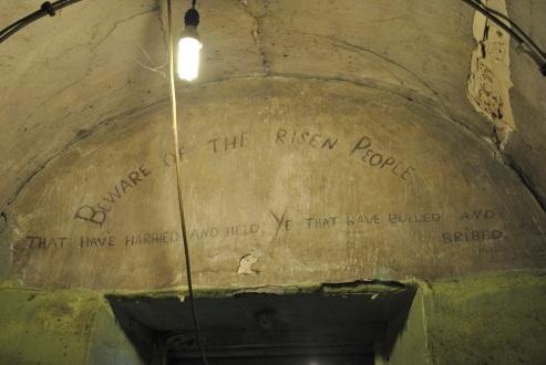 Prisoner graffiti