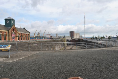 The Titanic once sat here!