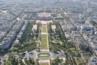 From atop the Eiffel Tower