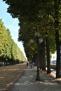 Our walk along the Seine