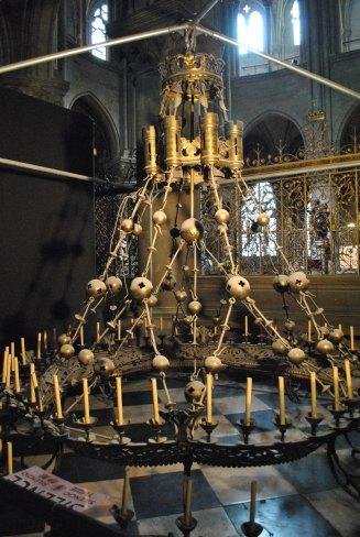 The original chandelier