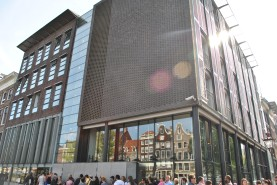 Anne Frank House -- look at that line!