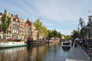 The canals are beautiful