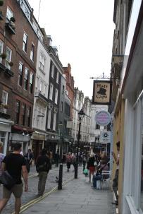 Wandering through Covent Garden