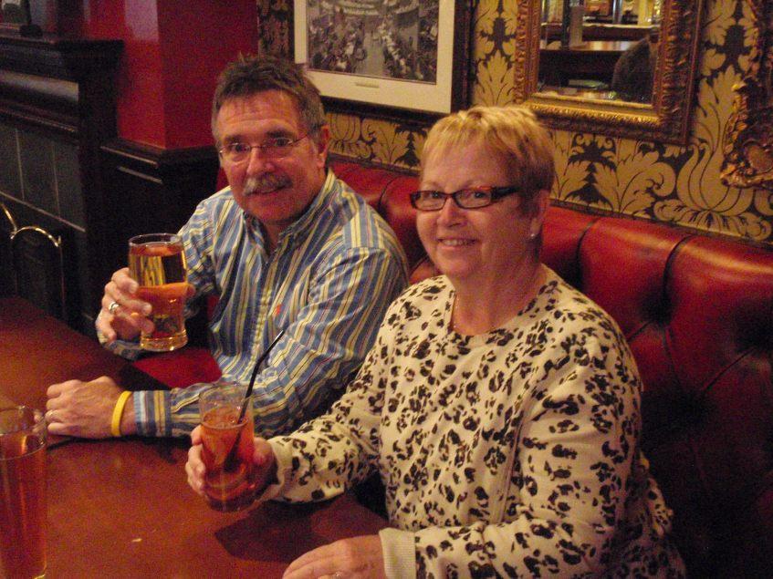 Pub night with mum and dad