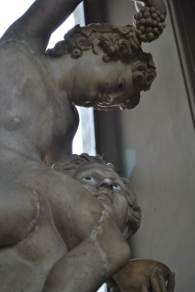 Some of the only statues left that have their eyes intact!