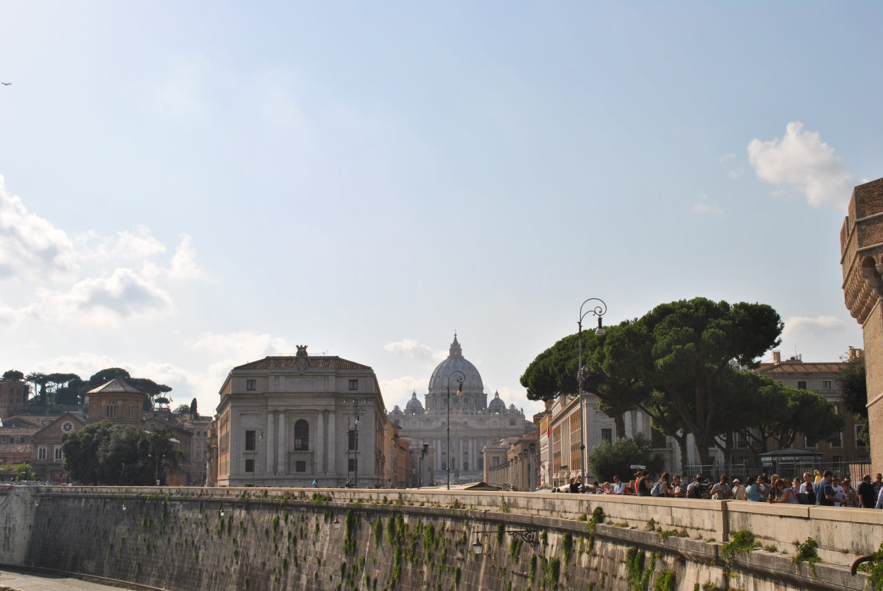 They let ME into theVatican!
