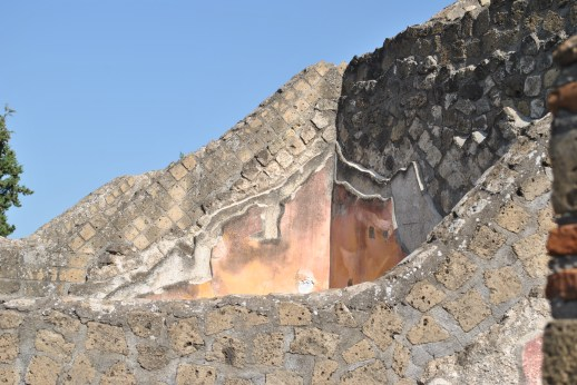 The layers of material used to build walls